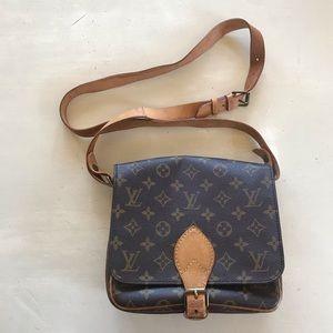 Vintage Authentic Louis Vuitton Cartouchiere